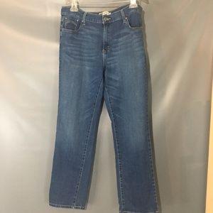 Levi's 505 Straight Leg size 14 Jeans GUC